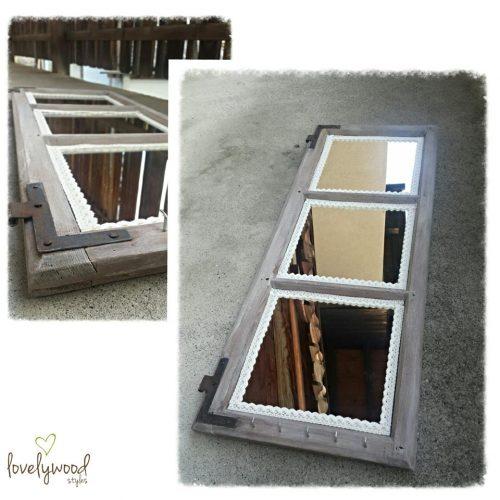 Shabby Fenster Spiegel Lovelywood